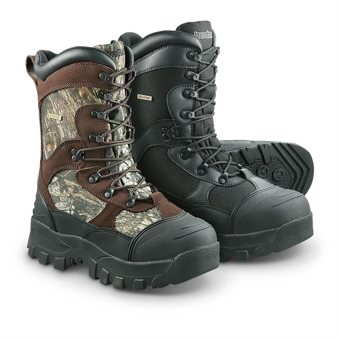 6b8d2a7e186 Guide Gear Men's Insulated Hunting Boots, Waterproof, 2,400 Gram ...