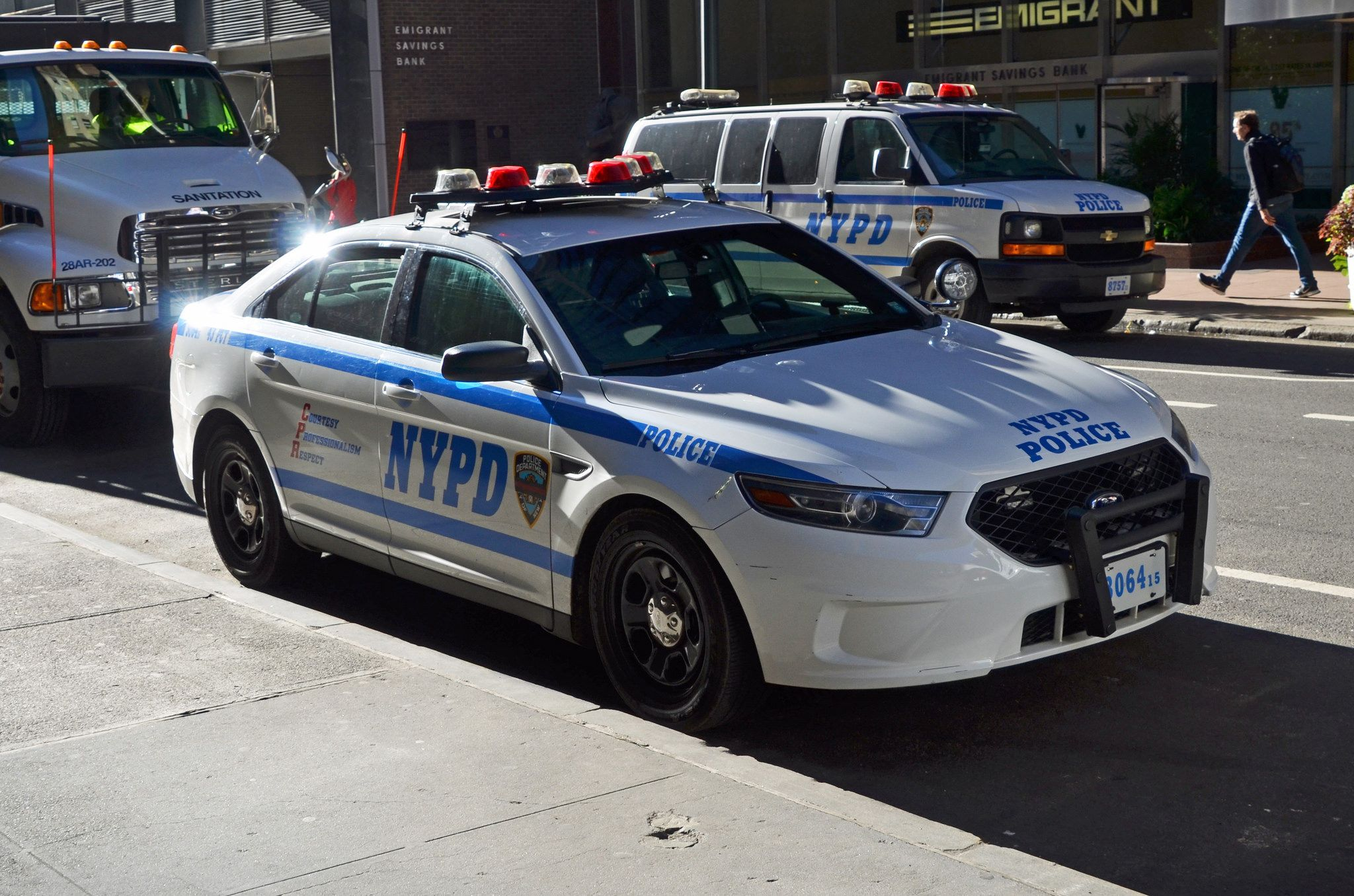 Nypd 43 Pct 3064 Us Police Car Nypd New York Police