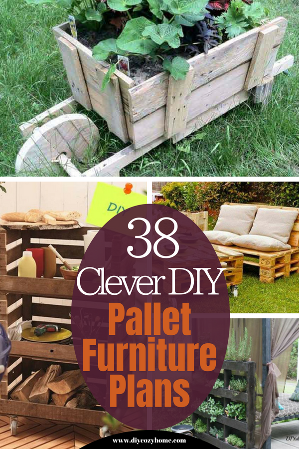 38 Clever Diy Pallet Furniture Plans Pallet Furniture Plans