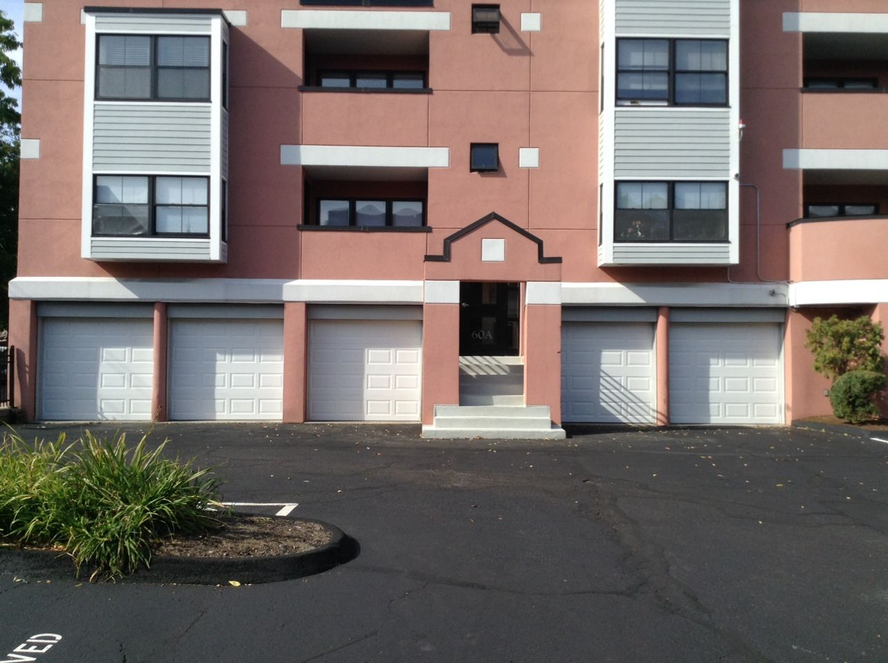 New Condo Complex Garage Doors In Dorchester Ma Boston Area