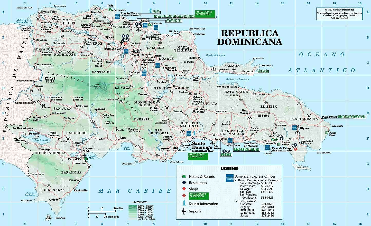 Pin By Boris Garcia On Favorite Places Spaces Dominican Republic Map Tourist Attraction Tourist