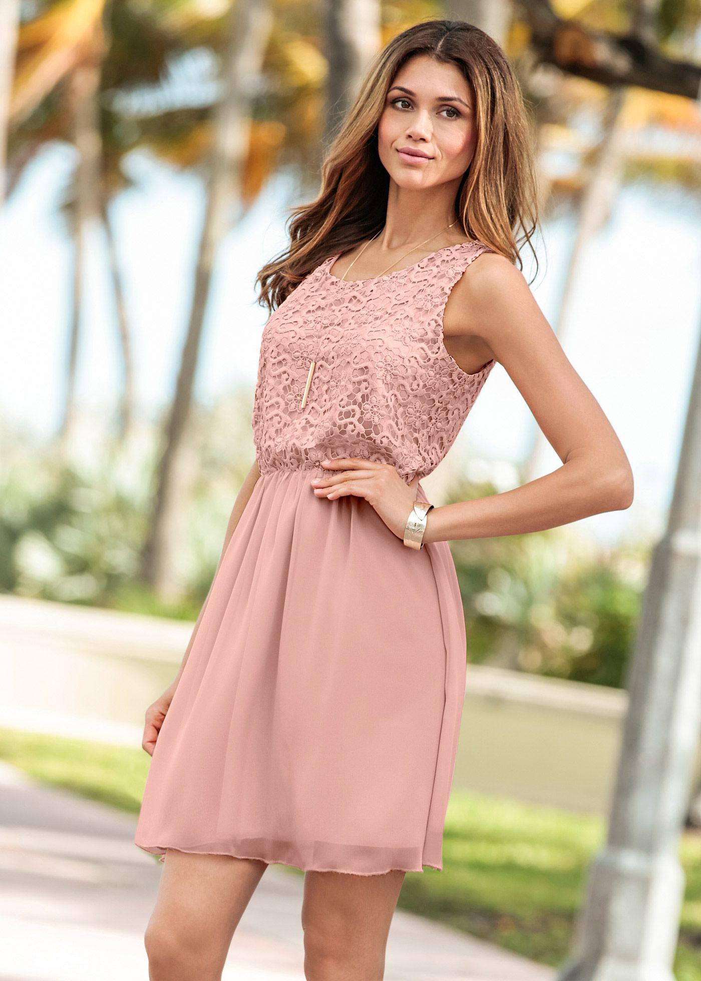 b69d21ca851237 Kleid vintagerosa - BODYFLIRT jetzt im Online Shop von bonprix.de ab ? 33,