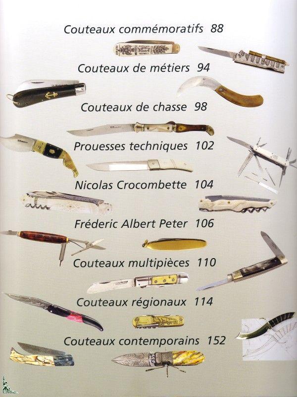 Couteaux, Art et savoir-faire, livre de Gourbillon et Paireault   eBay