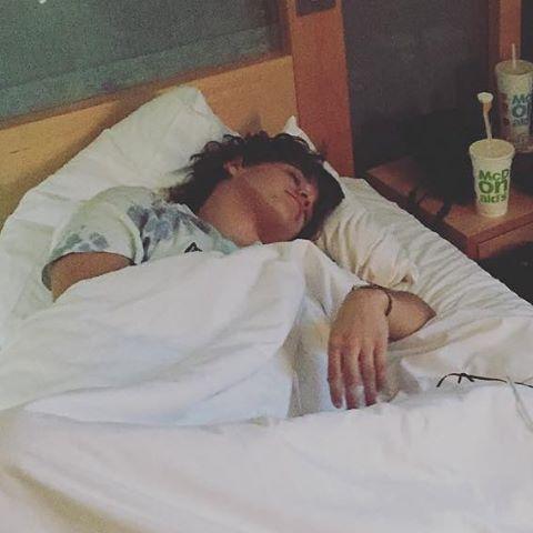 Cute little sleeping Bear. | Bradley simpson, Brad simpson, Bradley the  vamps