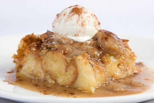 Mother's Day Bananas Foster Bread Pudding