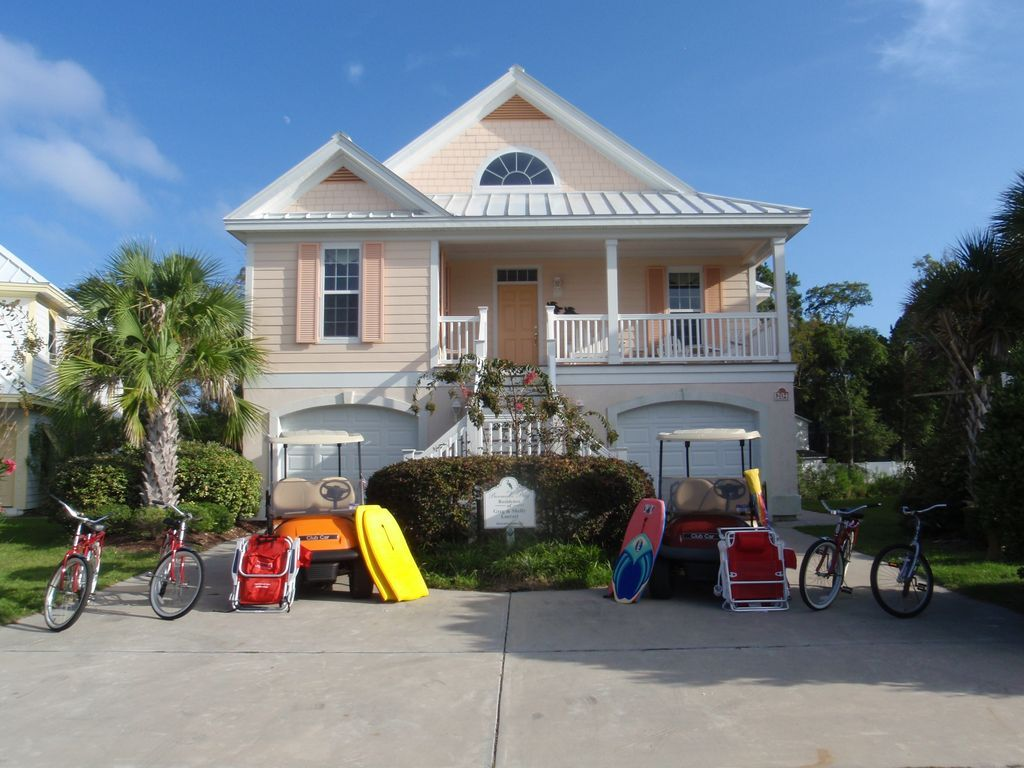 Amazing House Vacation Rental In Surfside Beach Sc Usa From Vrbo Home Interior And Landscaping Elinuenasavecom
