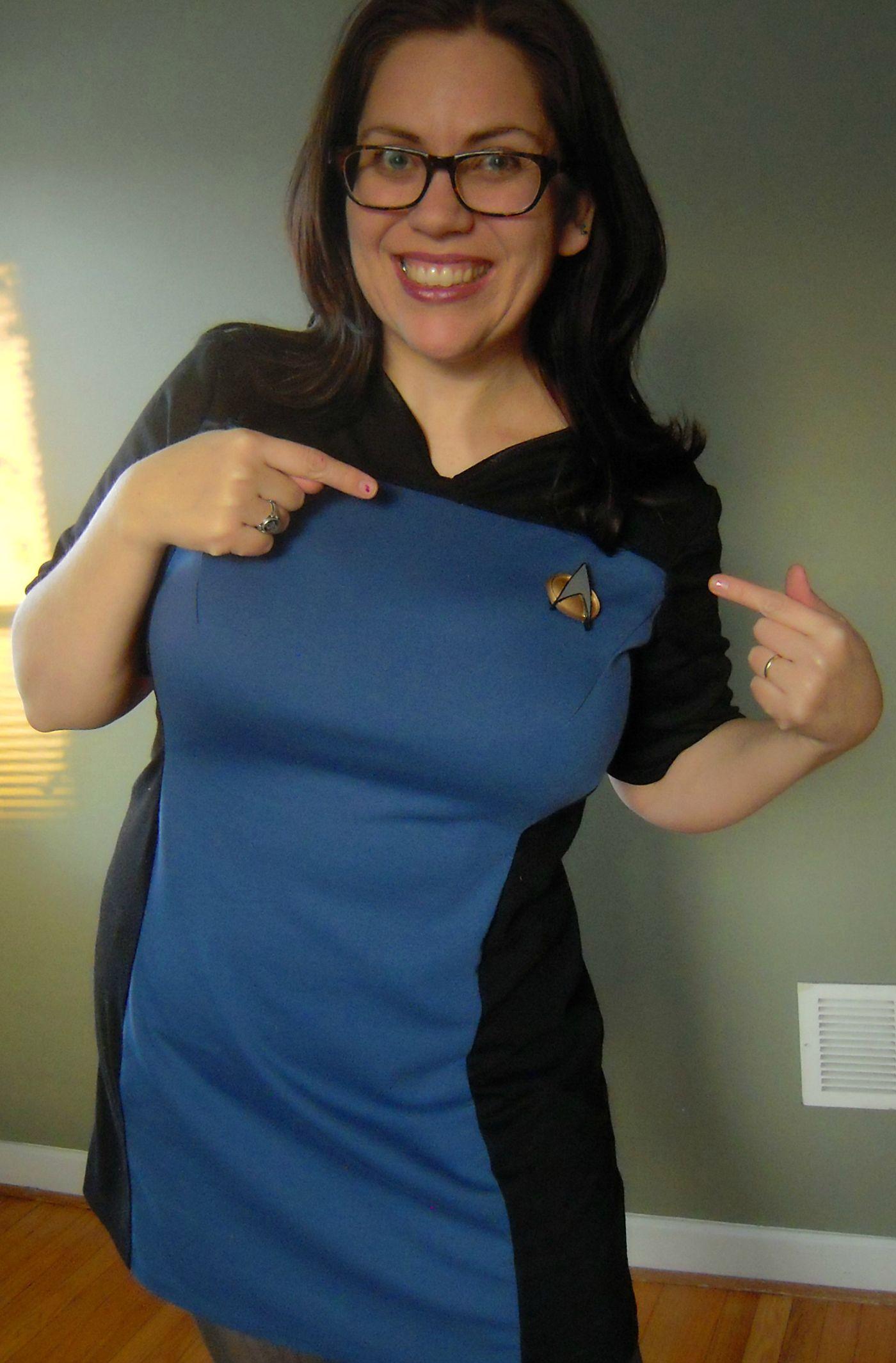 Join Starfleet Make Your Own Star Trek Tng Skant Uniform Star Trek Dress Star Trek Costume Star Trek Party