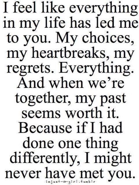 Then my past is worthed❤️
