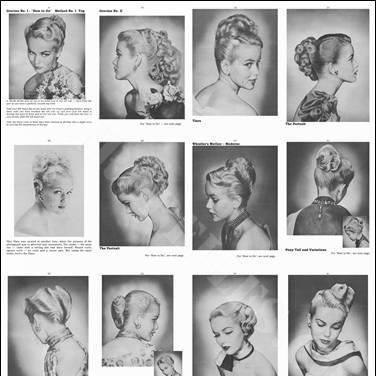 Some Great Examples Of Early 50 S Hairstyles Vintage Hairstyles
