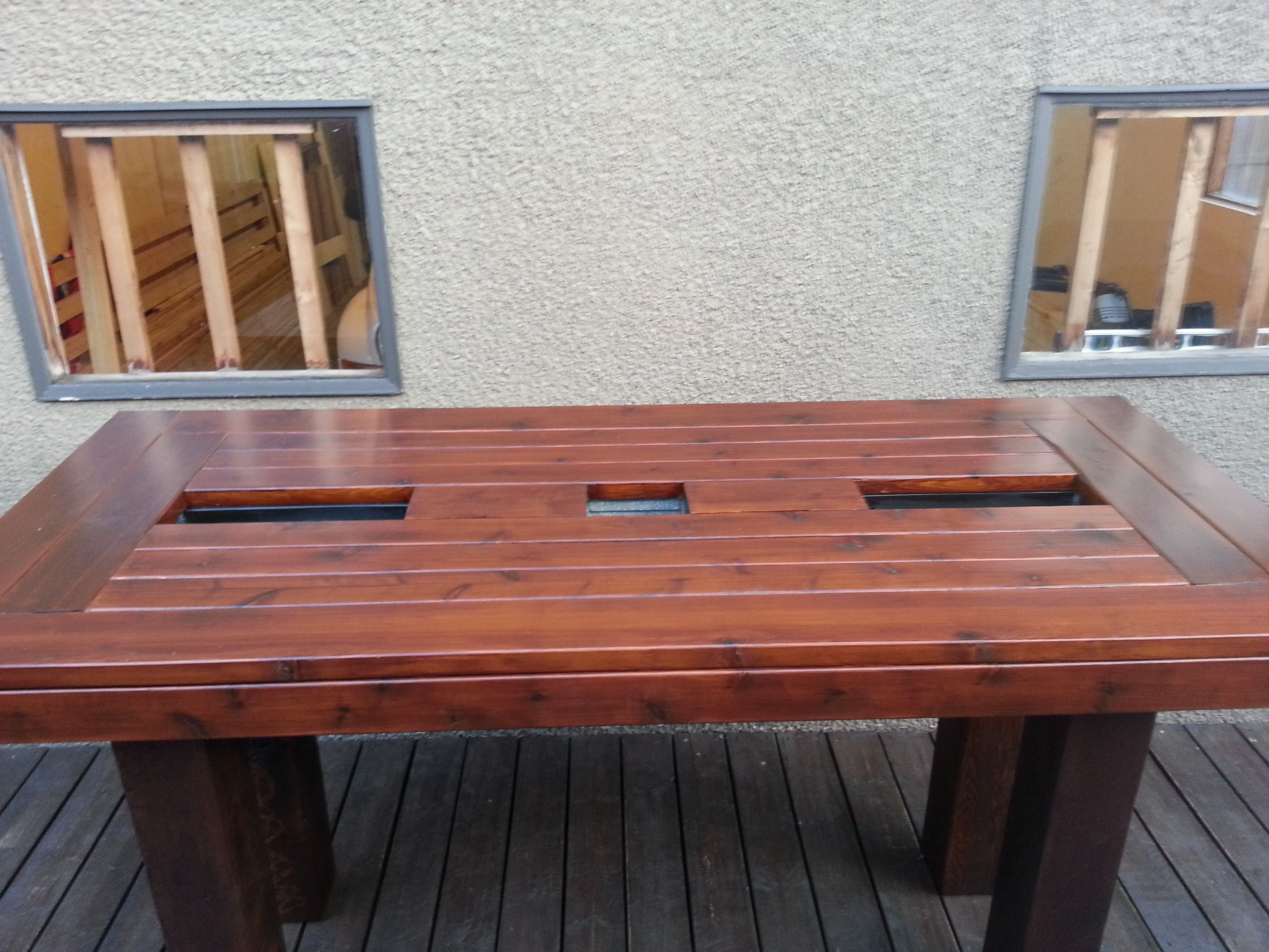 Bar Height Patio Table Do It Yourself Home Projects From Ana White