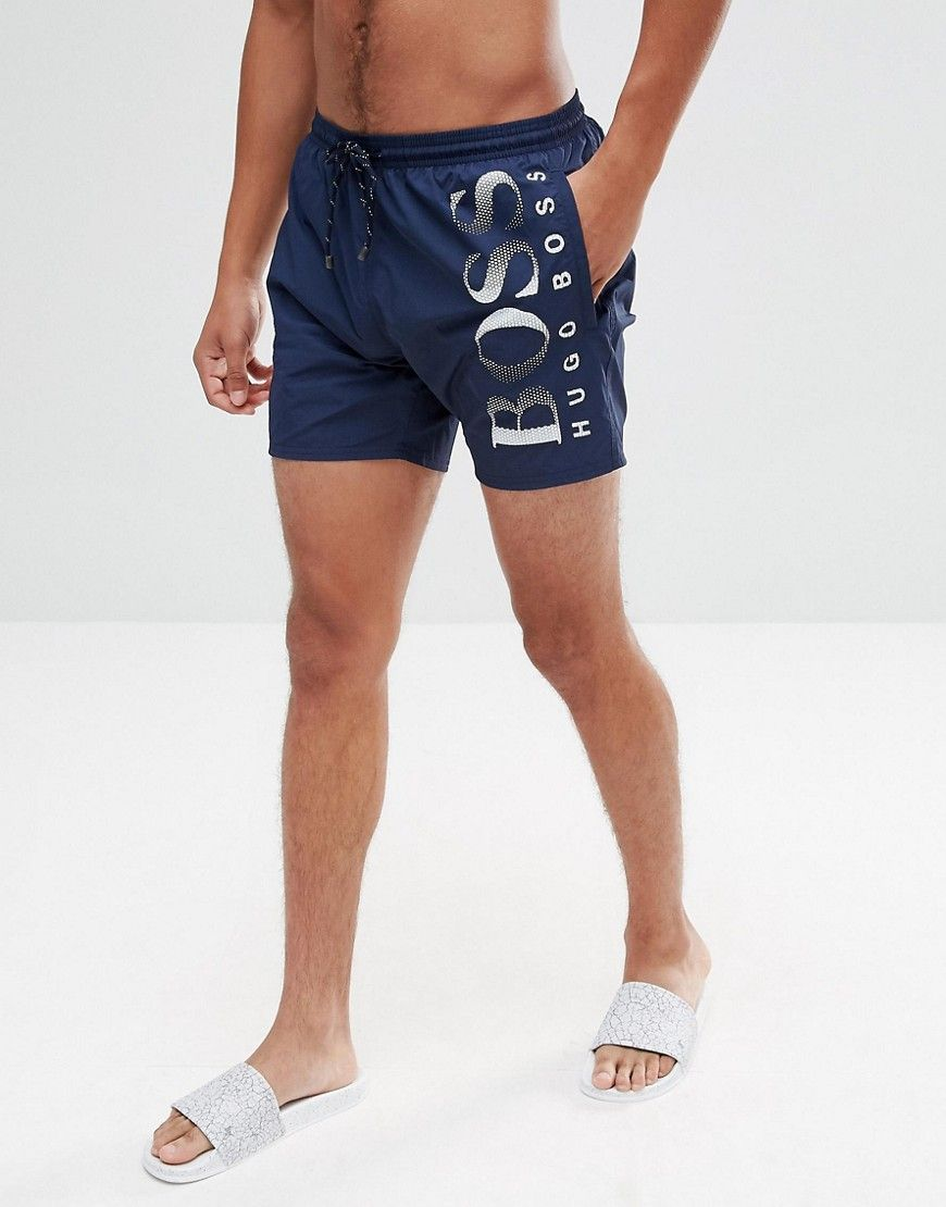 39d1e64f6c BOSS BY HUGO BOSS OCTOPUS SWIM SHORTS IN NAVY - NAVY. #boss #cloth ...