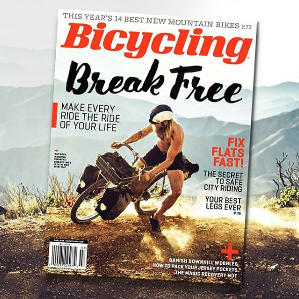 Our July 2015 Issue Won Cover Of The Year Bicycling Magazine
