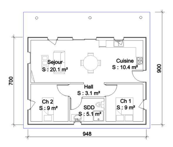 Afficher lu0027image du0027origine rubricàbrac Pinterest - plan maison cubique gratuit