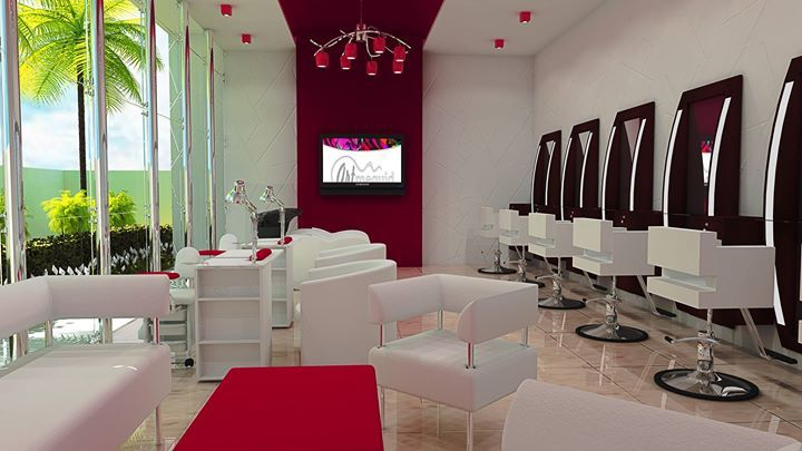 6f494cf1c Resultado de imagen de diseño de peluquerias modernas | Mi salon de ...