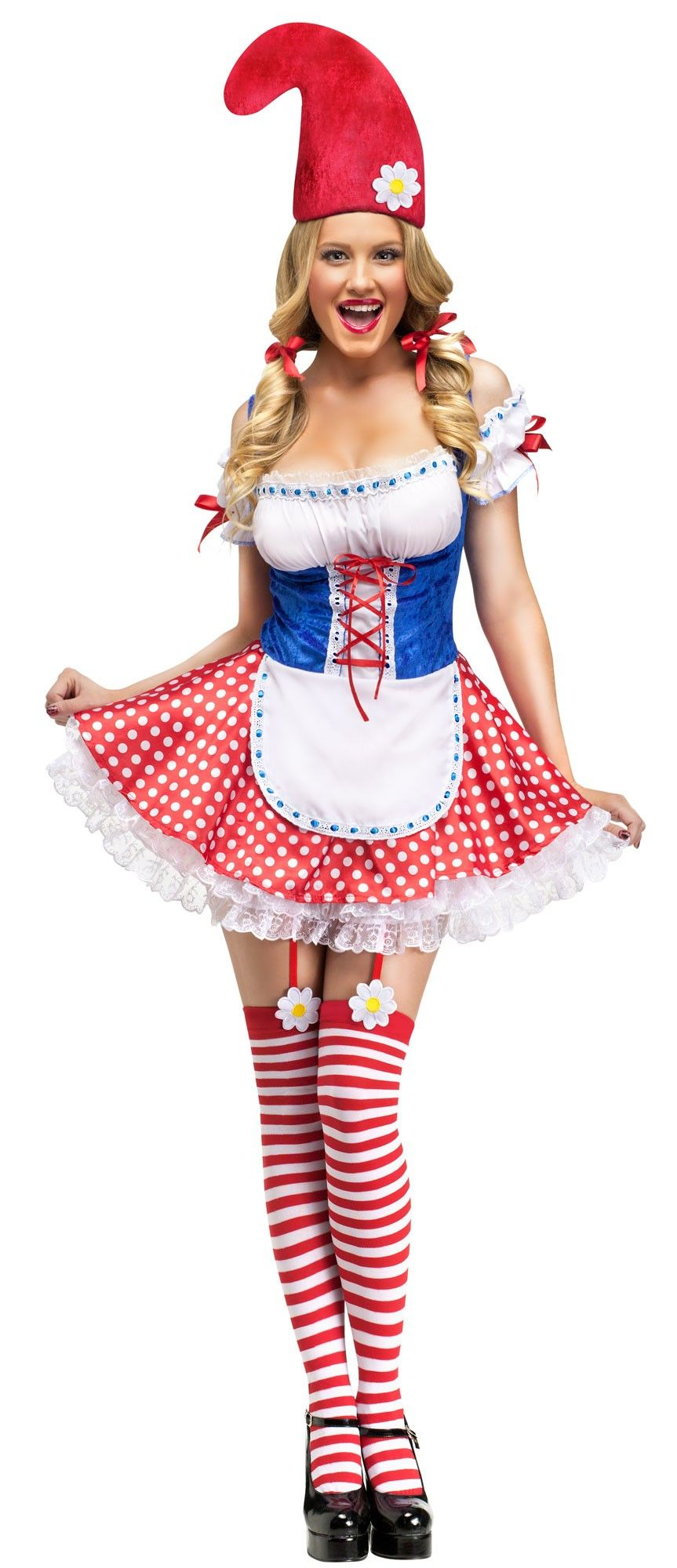 CLEARANCE Sassy Gnome Dress Costume Unique halloween
