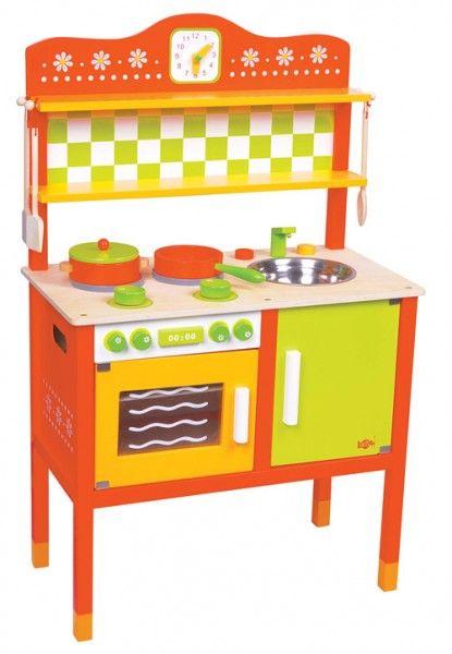 Drewniana Kuchnia Dla Dzieci Nowosc Na Prezent 3910854856