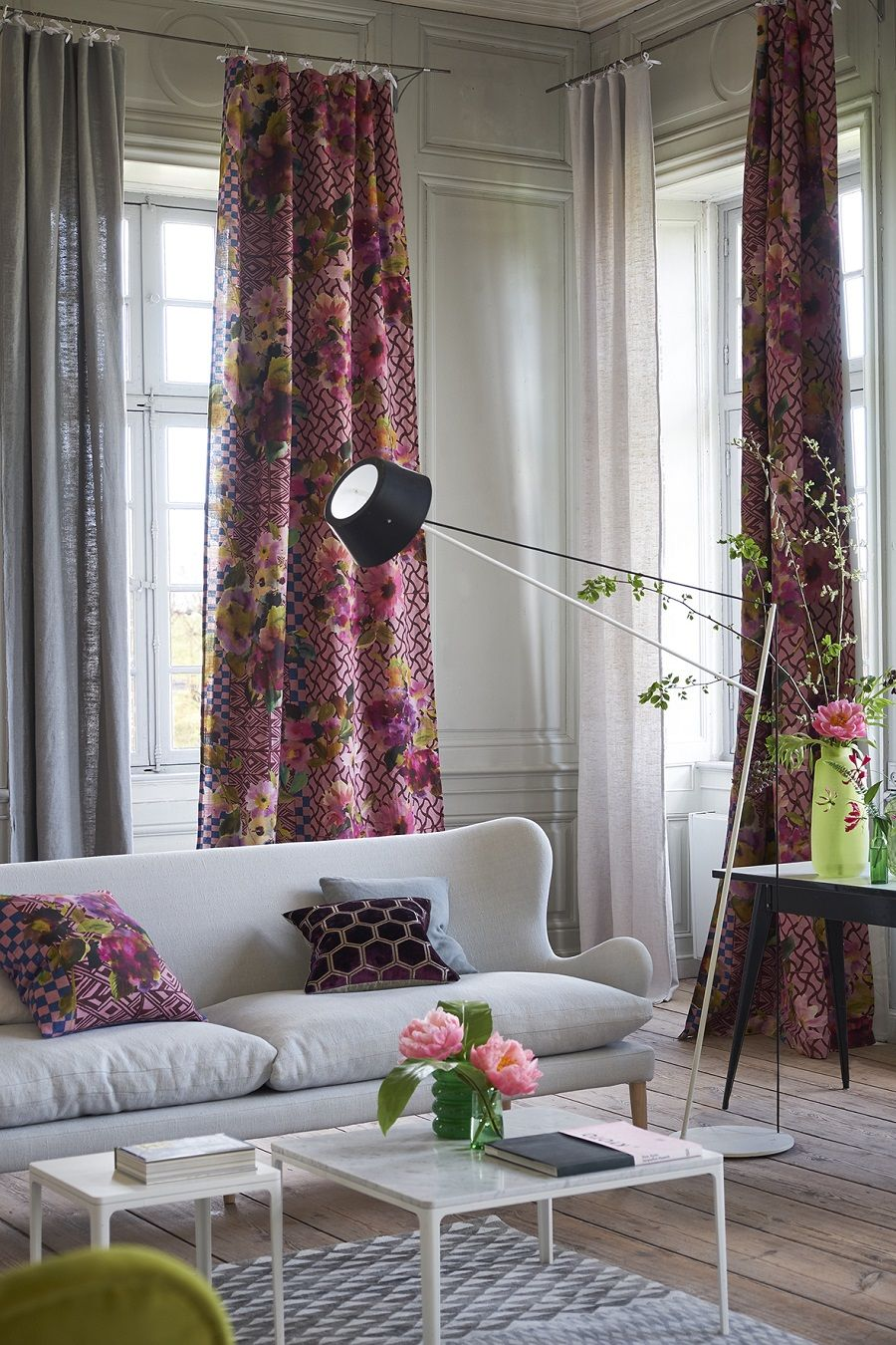 The new jaipur collection of fabrics from designers guild and