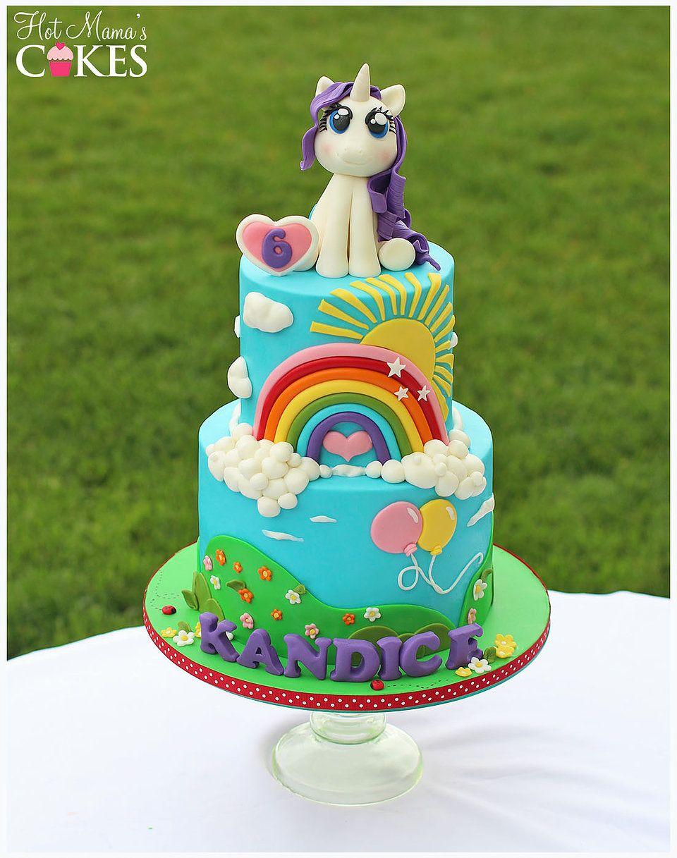 Hot Mamas Cakes Little Pony Cake Pony Cake My Little Pony Cake