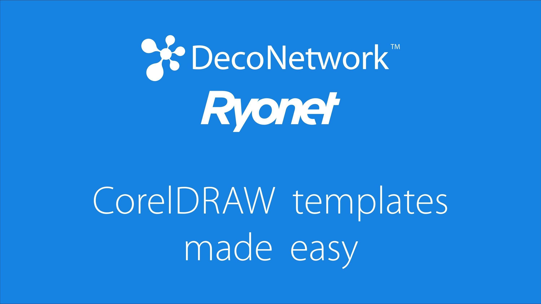 CorelDRAW template made easy and screen print separation webinar