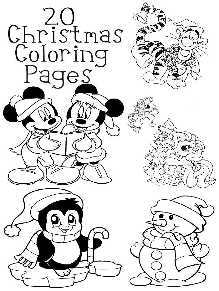 20 Christmas Coloring Pages Made to be a Momma | Kids | Pinterest ...