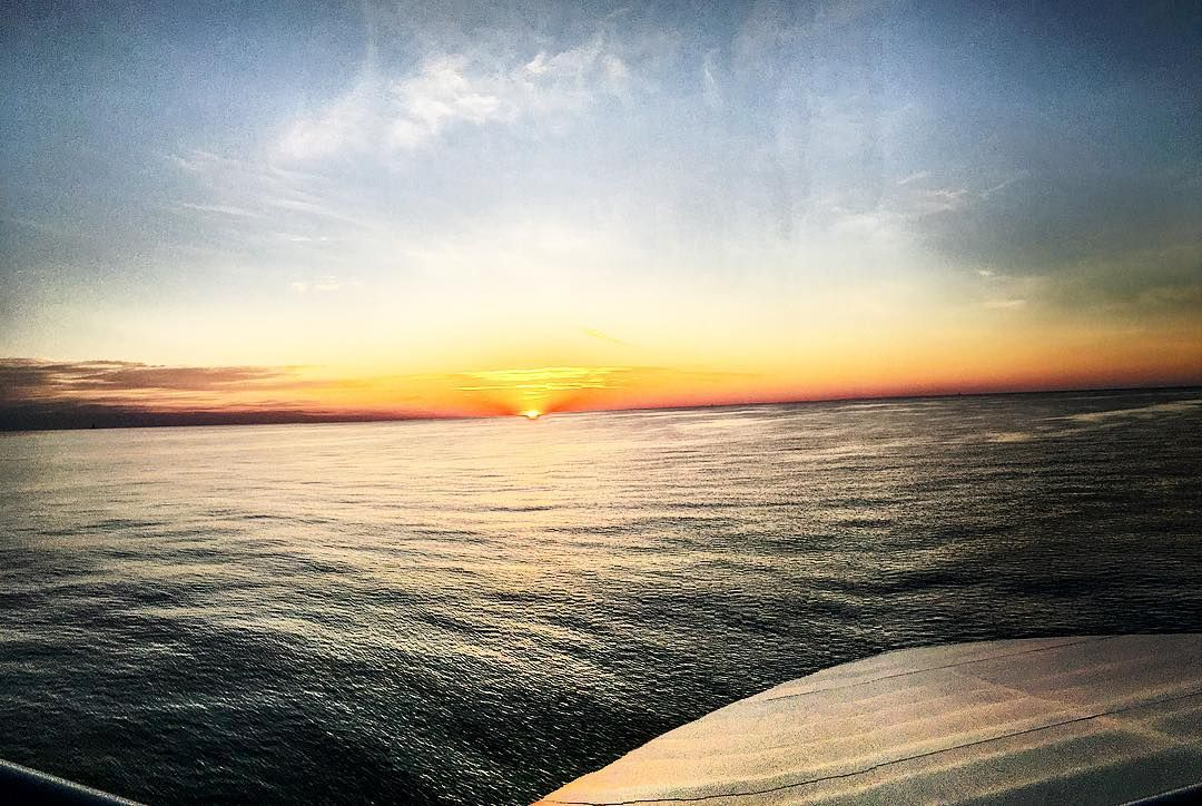 Good Morning! #dopeness #offshore #gulfofmexico #sunrise