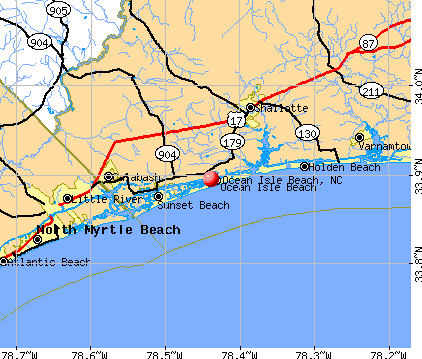 Ocean Isle Beach North Carolina Nc 28469 28470 Profile