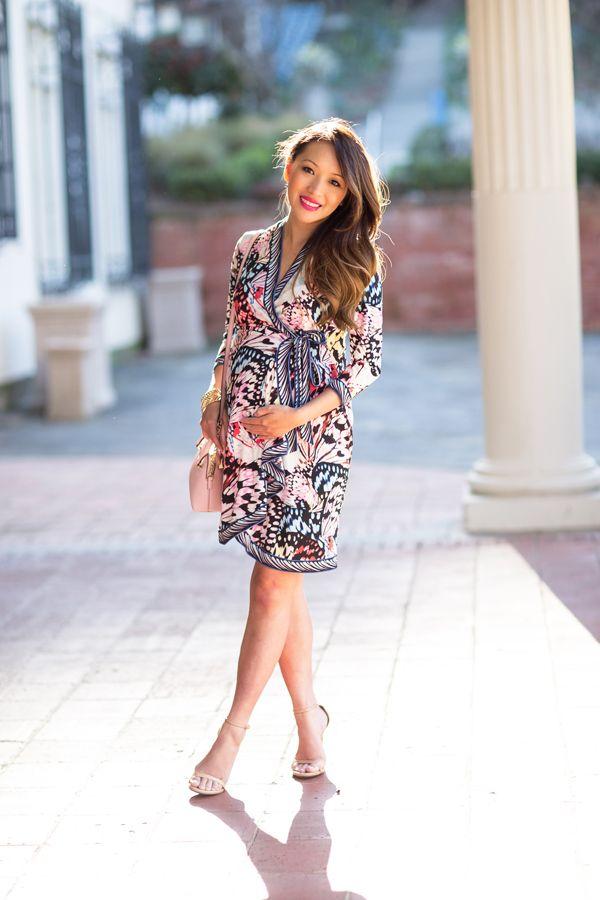 af9b810b370 maternity wrap dress