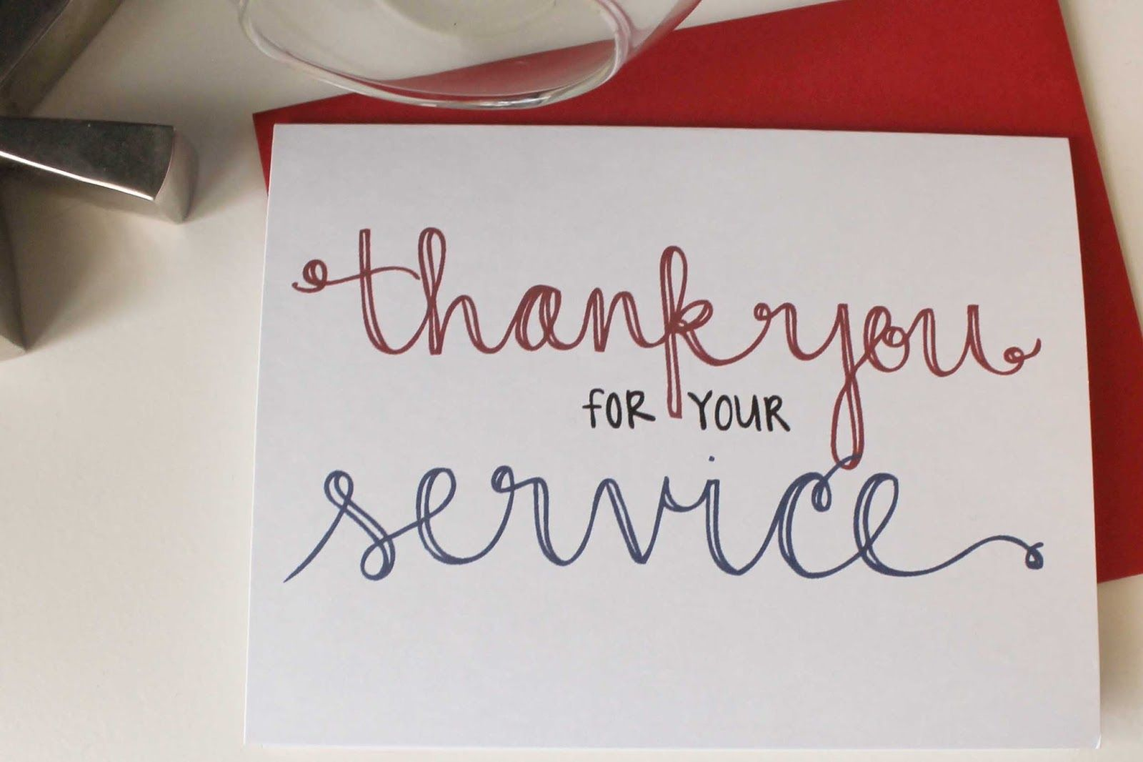 Send A Thank You Card To Our Troops With Images