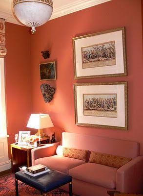 Best Persimmon Interior Design Color Schemes Orange Bedroom 400 x 300
