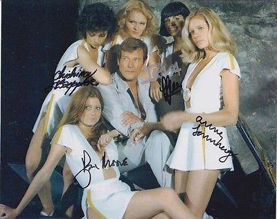Multiple Rarest 007 James Bond Amp Girls Official Cast Autograph