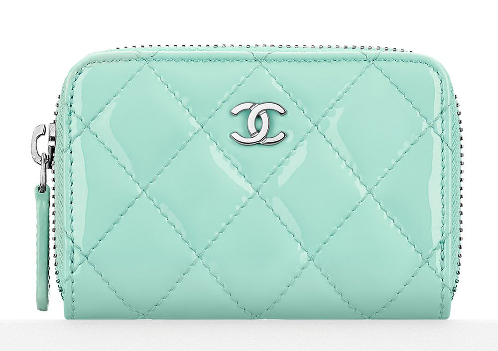 chanel zip coin purse. check out chanel\u0027s cruise 2016 wallets, wocs and small leather goods, including prices chanel zip coin purse
