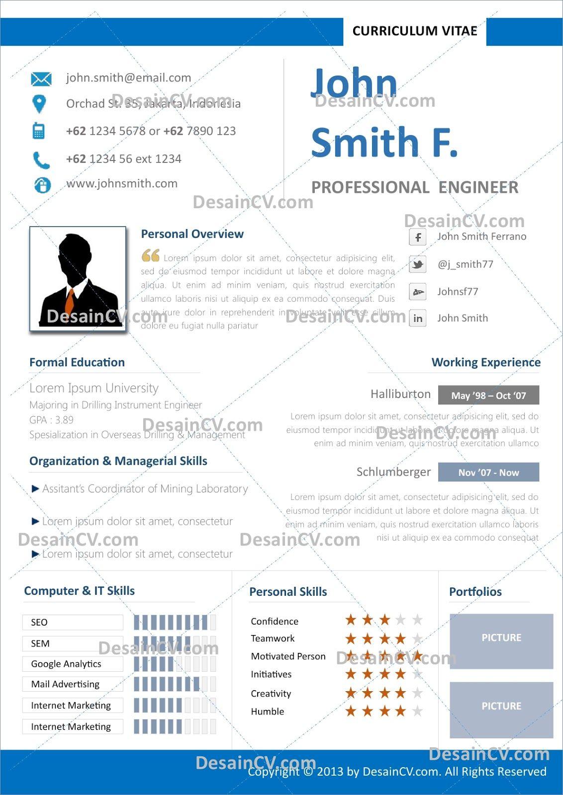 Format Resume Yang Menarik Essay about life, Resume