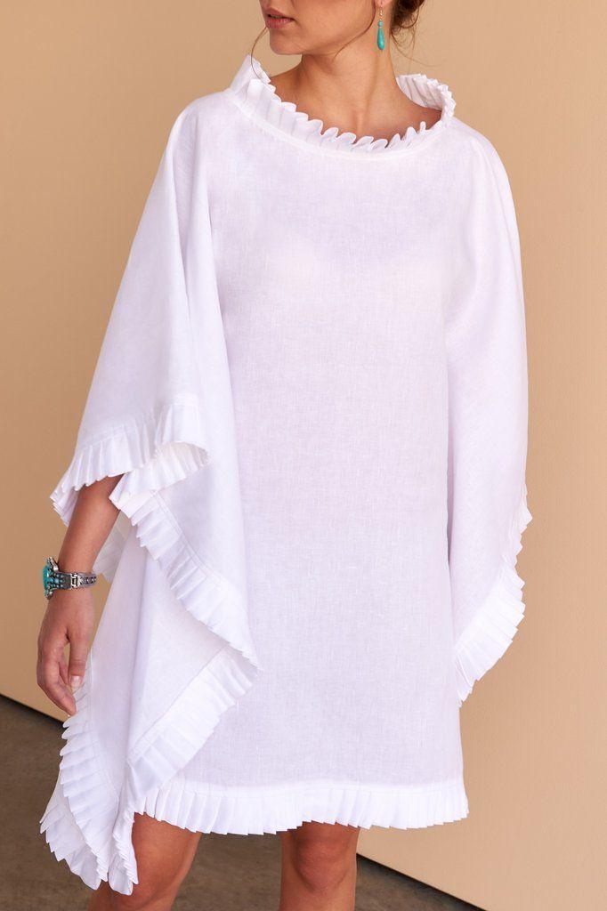 Asma | Kaftan #purewhite