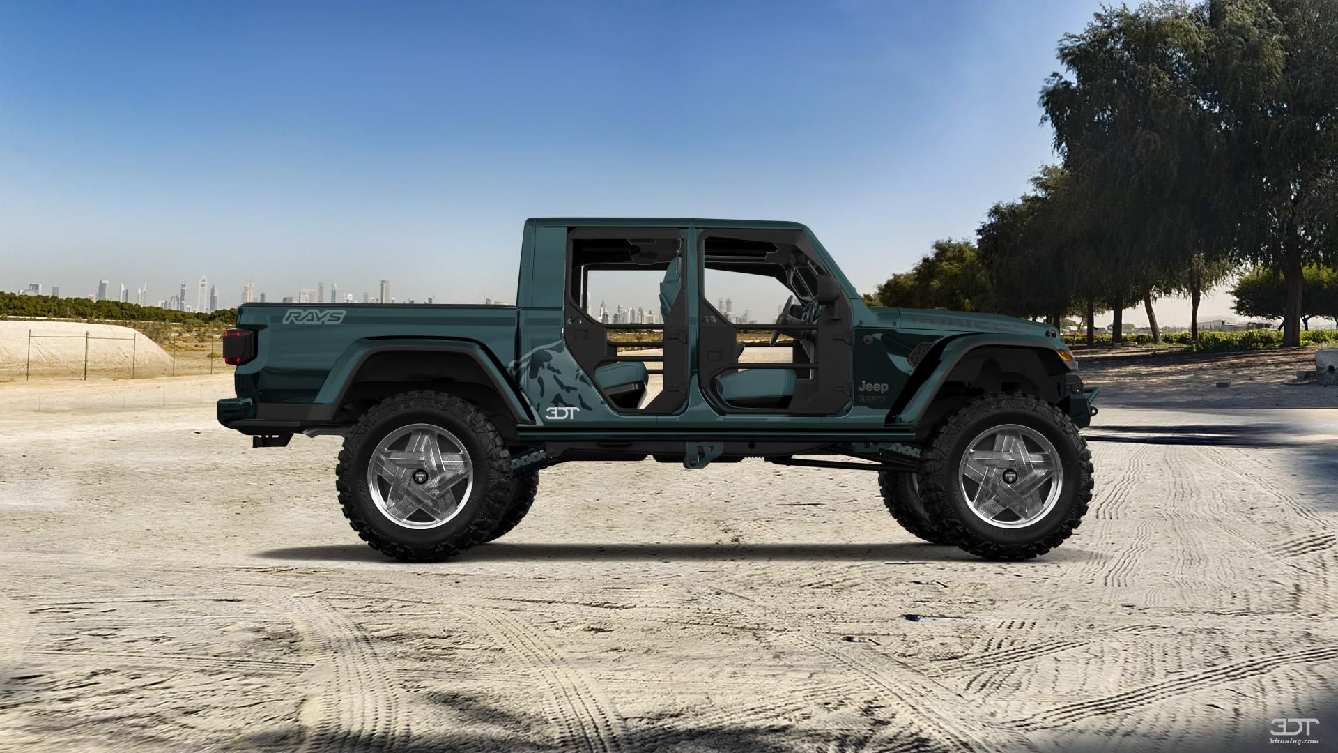 Checkout my tuning Jeep Gladiator 2020 at 3DTuning