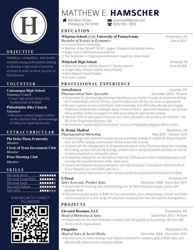 Resume Templates That Will Get You Noticed Finance Career