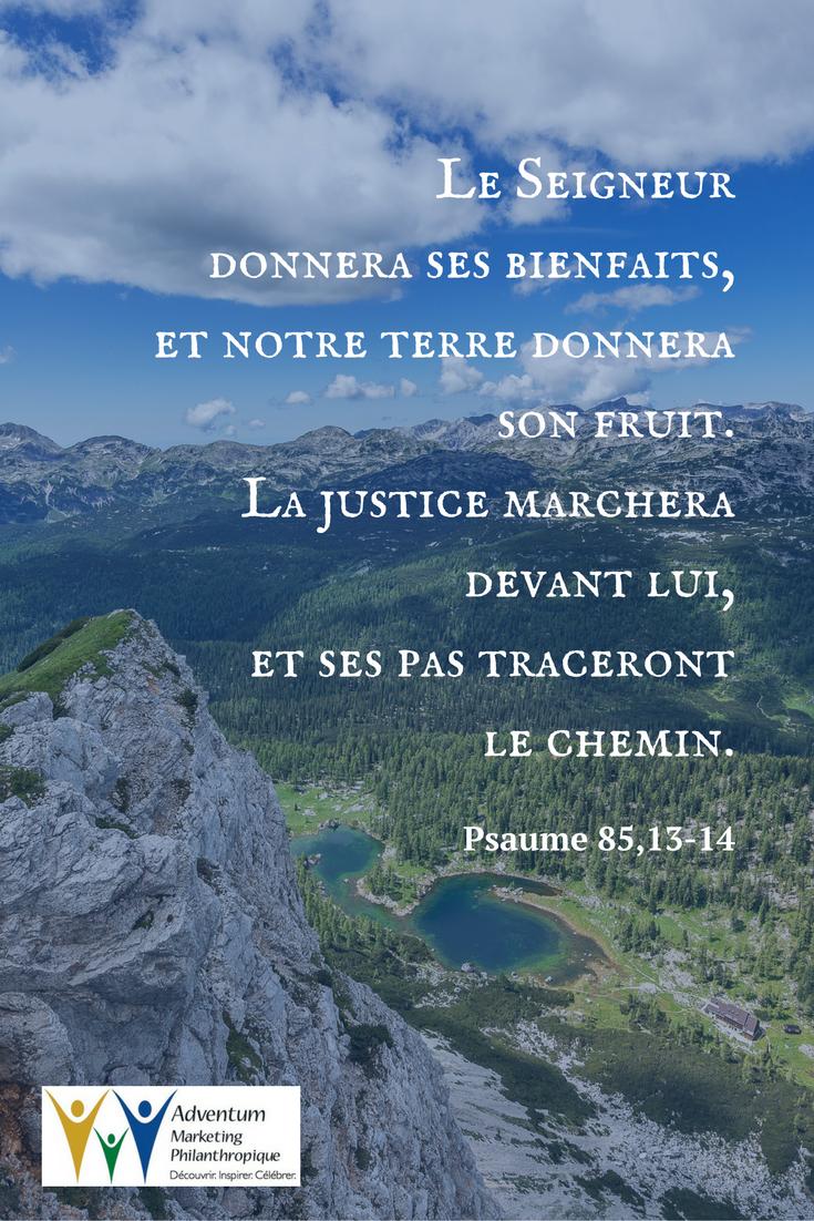 5 décembre 2016 – Psaume 85,13-14 | Natural landmarks