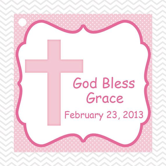 Cross pink baptism christening first holy communion square tags cross pink baptism christening first holy communion square tags negle Choice Image