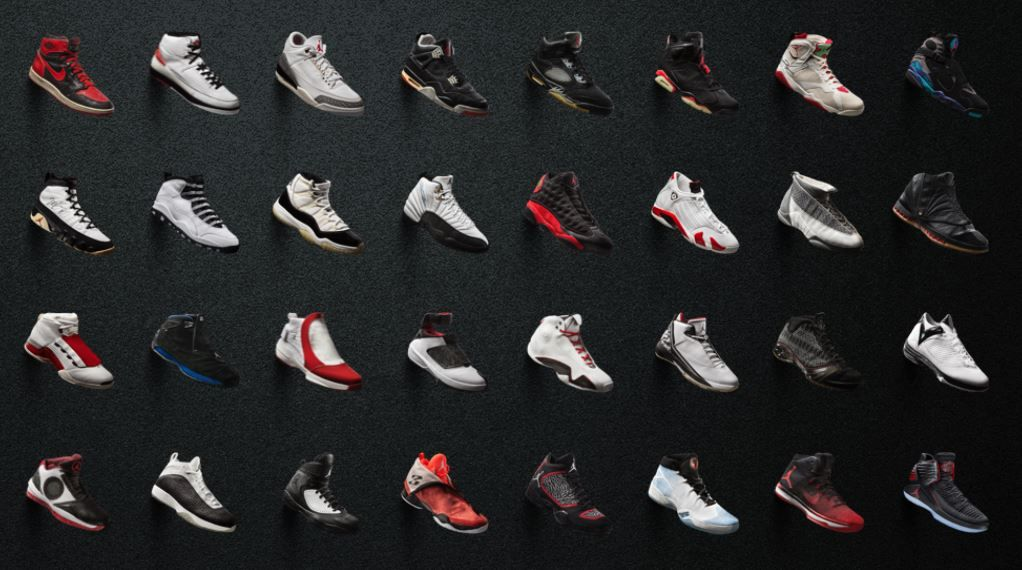 best service 854de c4a39 All Air Jordans from 1985 to 2018 (1-32) | Sneakers