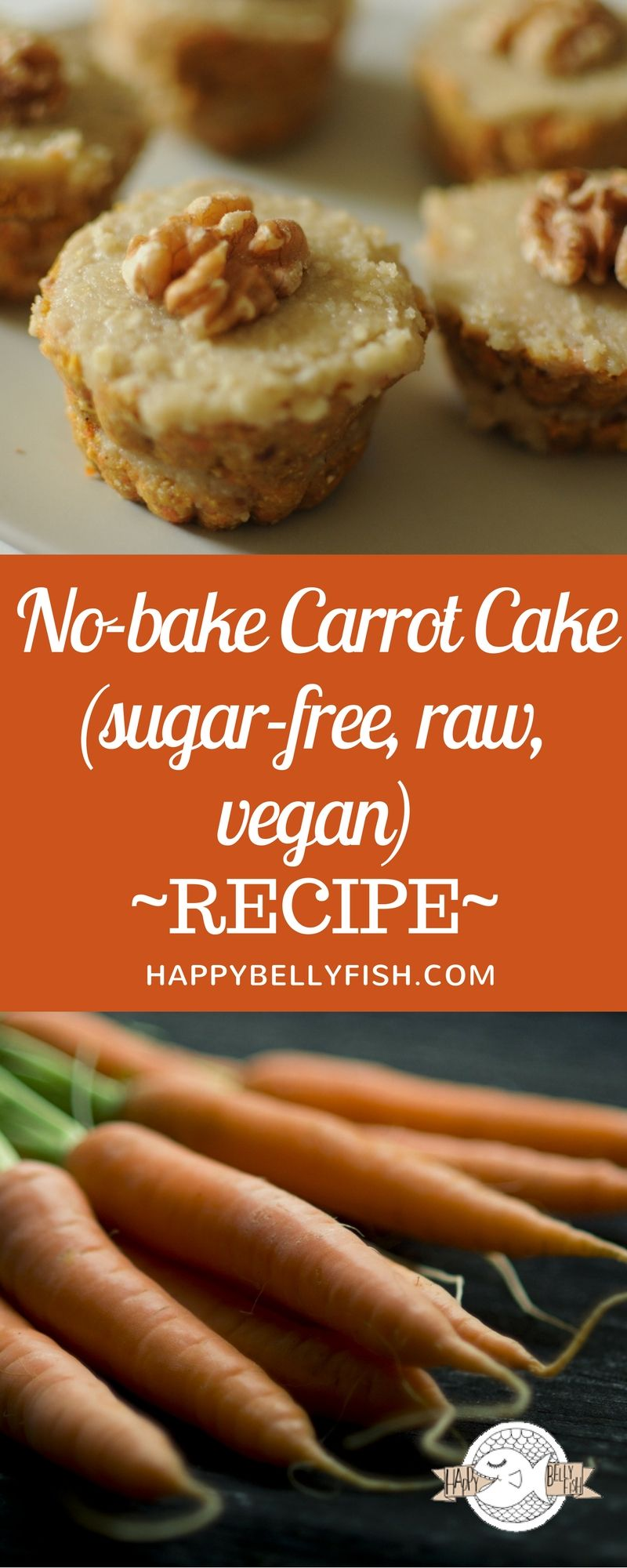 Raw Sugar Free Carrot Cake Recipe No Bake Vegan Sugar Free