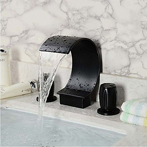 Ifaucet Waterfall Oil Rubbed Bronze Bathroom Sink Faucet Https Fair Oil Rubbed Bronze Bathroom Faucet Decorating Inspiration