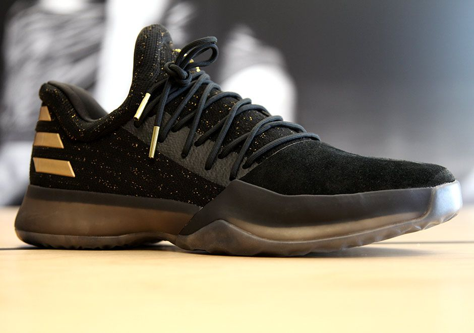 adidas Harden Vol. 1 Black Gold | SneakerNews.com