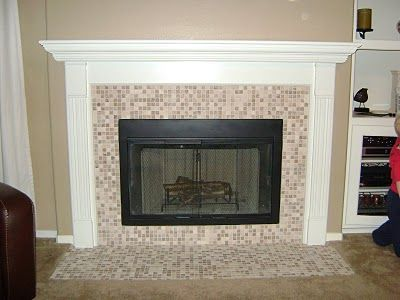 Fireplace Facelift Home Remodeling New Homes Fireplace Surrounds