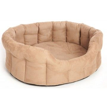 Superior Faux Suede Drop Front Oval Dog Beds By Pets And Leisure Oval Dog Bed Orthopedic Dog Bed Memory Foam Dog Bed