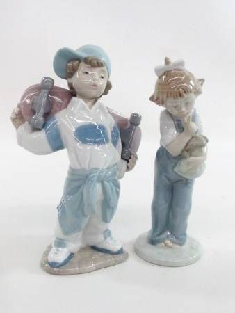 Lladro Nao Porcelain Figurines Made In Spain Porcelain Figurines Figurines Goodwill Shopping
