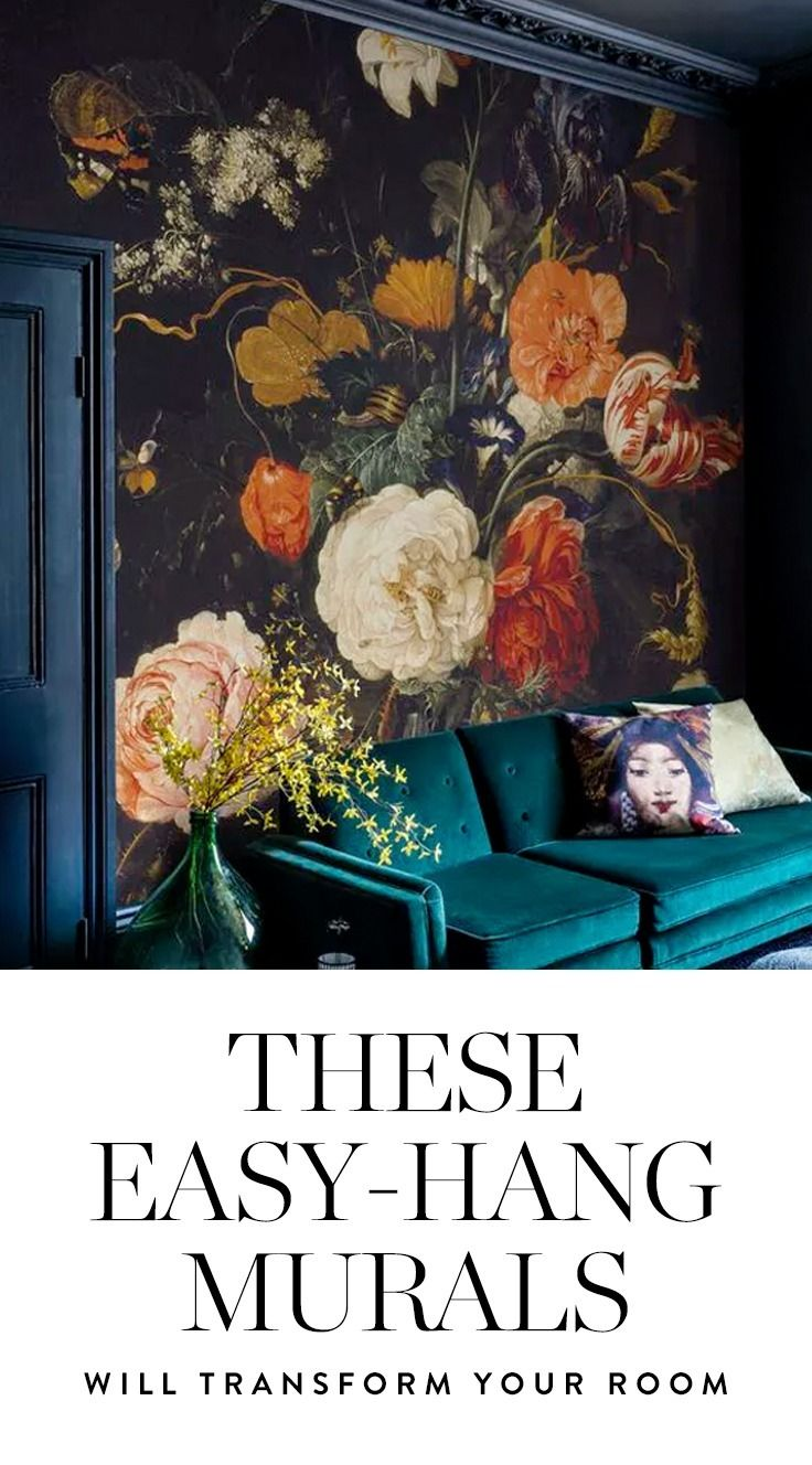 These EasyHang Murals Are Making Us Swoon Wallpaper Walls and