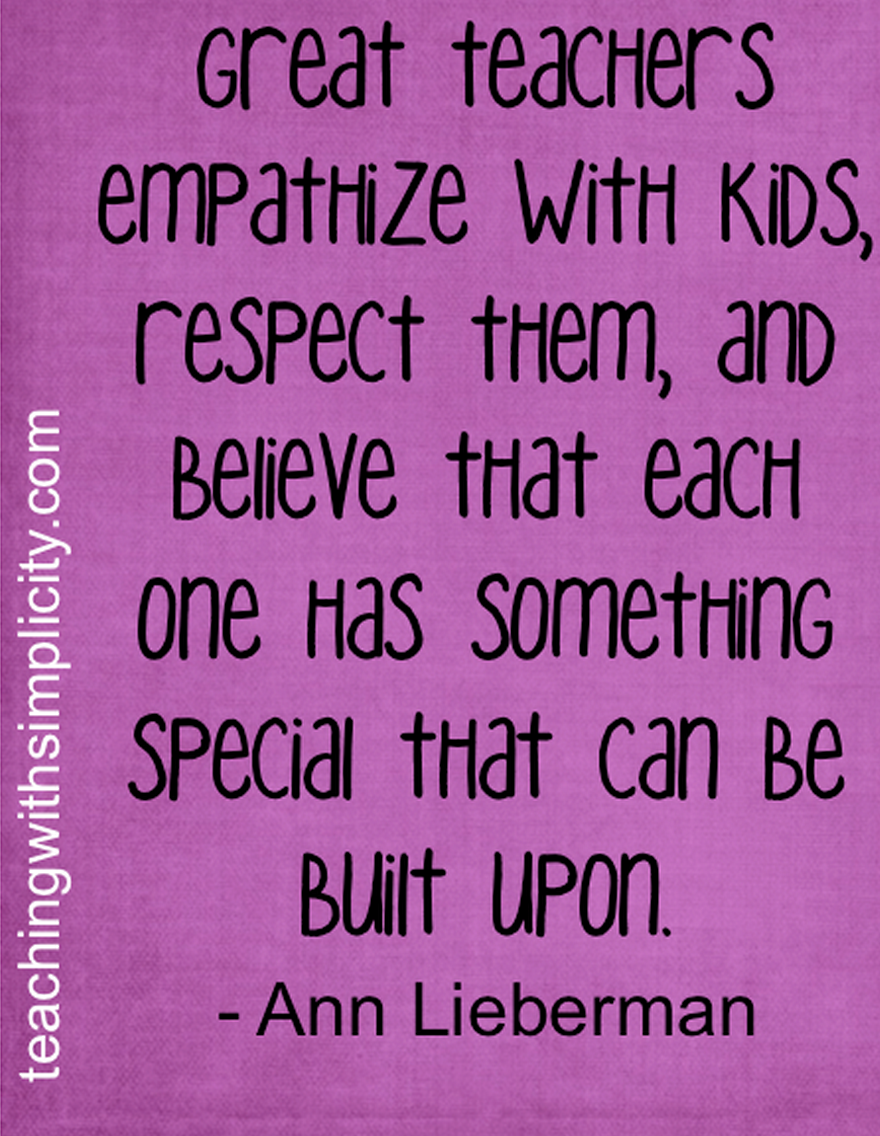 Respect Quotes For Elementary Students Quotesgram Teaching Quotes