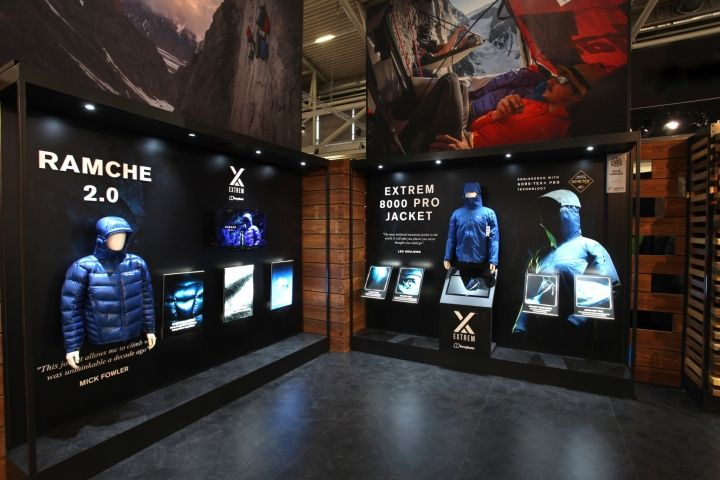 new concept aa6da bd6c1 Berghaus Exhibition Experience by Mynt Design at ISPO 2016 ...