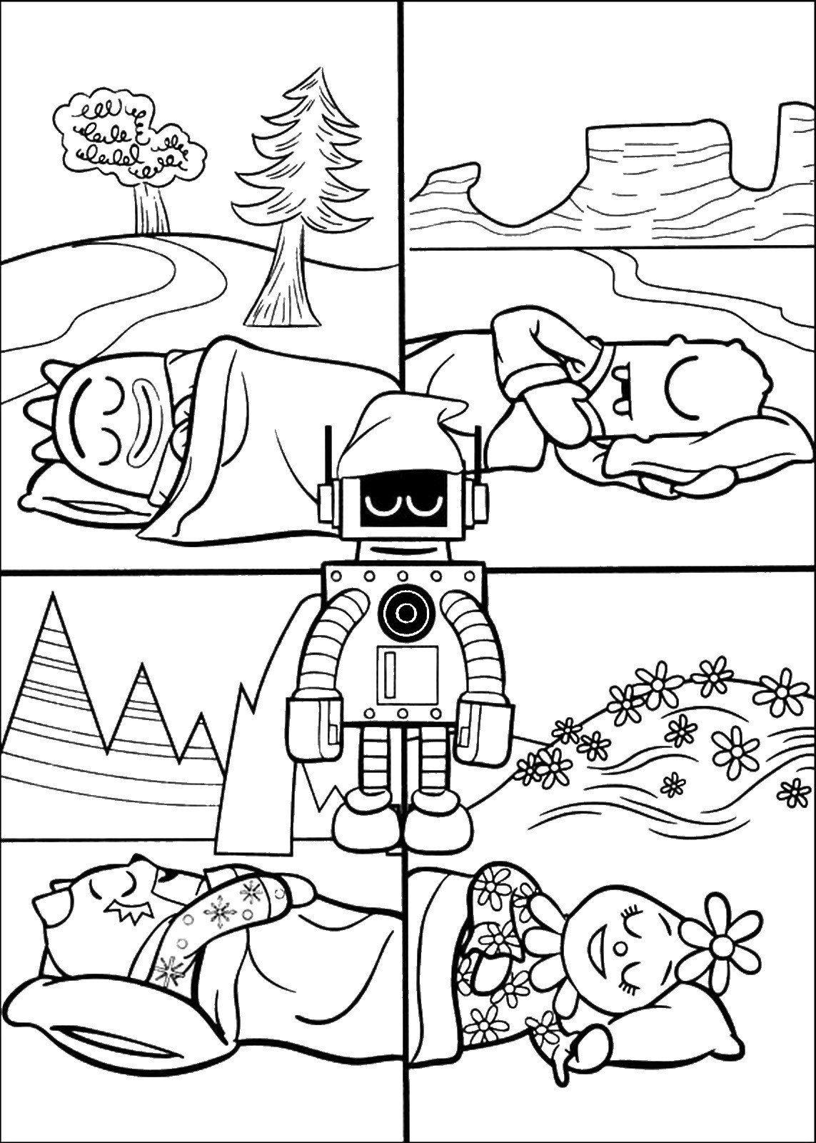 Yo Gabba Gabba Coloring Pages Yo Gabba Gabba Coloring Pages Cartoon Coloring Pages Yo Gabba Gabba Coloring Pages