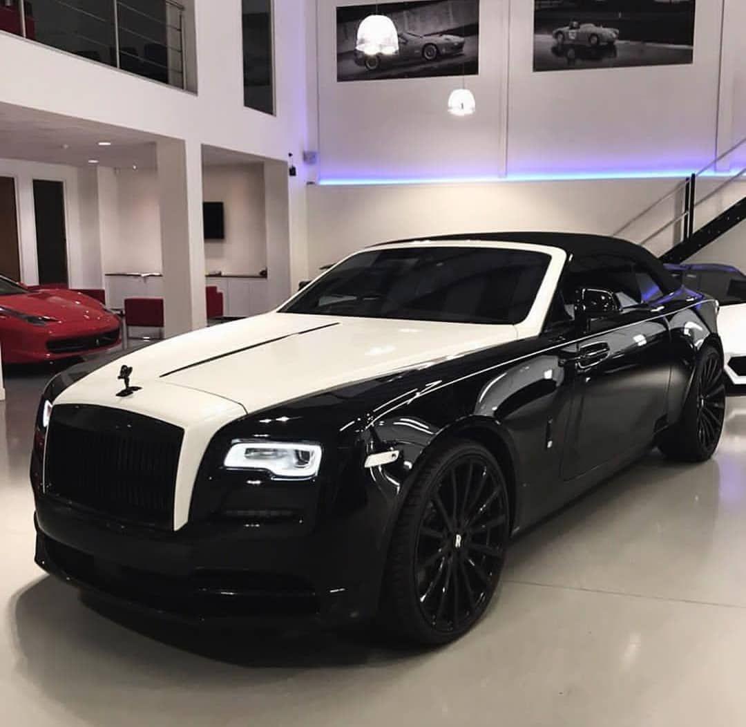 Cars Supercars Motors On Instagram Panda Rolls Royce Dawn