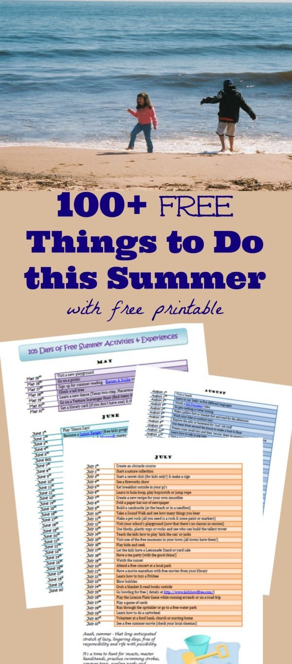 Simple ideas for creating summer memories -- lots of great ...